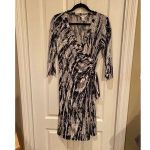 EUC Diane Von Furstenburg wrap dress